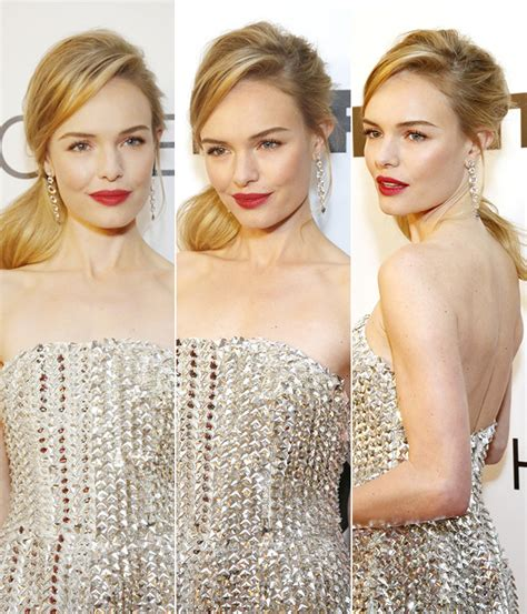 Kate Bosworth Looks Great by Kate Bosworth Brings Back The Side Ponytail Cabelo