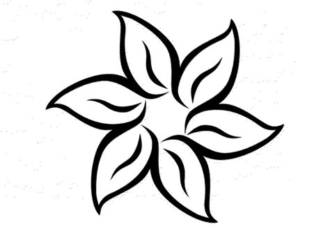 printable flower coloring pages print some common variations of the flower