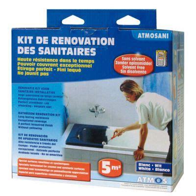 Email A Froid Baignoire by Kit De R 233 Novation Des Sanitaires Atmosani Castorama