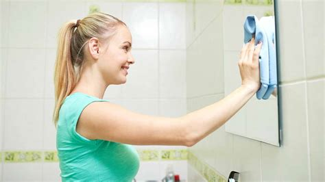 best way to clean bathroom mirror how to clean bathroom mirror without streaks 11 homemade