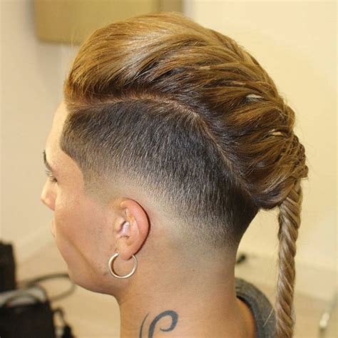 17 best images about shaved sides are my fav on pinterest shaved sides with french braid 30 best braids with
