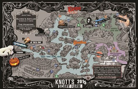 scary maps knotts scary farm 2015 31 days of horror queuetimes
