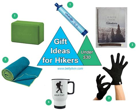 under 30 gifts for hikers