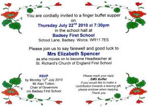 invitation to elizabeth spencer s farewell 2010 the