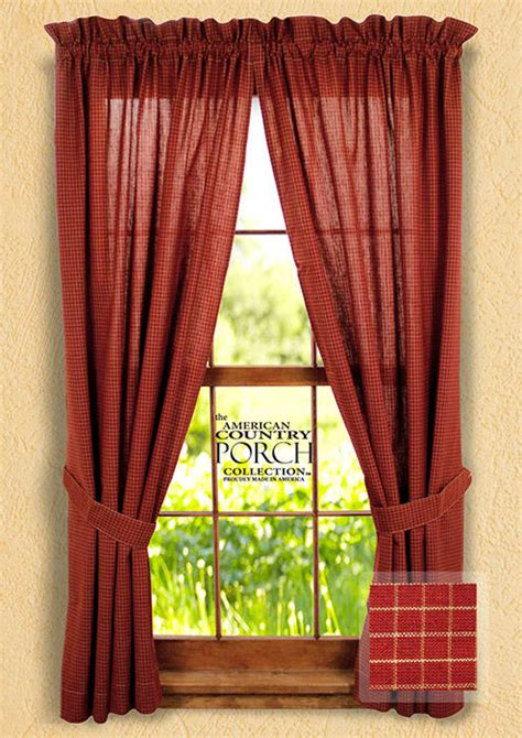 small window panel curtains wine small window pane tieback curtain panels