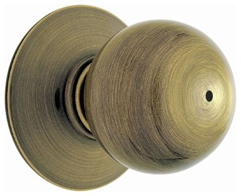 Bed Knobs by Orbit Antique Brass Bed And Bath Knob F40 O