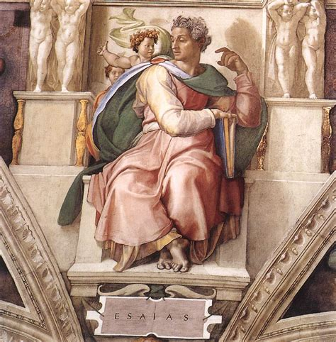 libro michelangelo the complete paintings file michelangelo profeti isaiah 01 jpg wikimedia commons