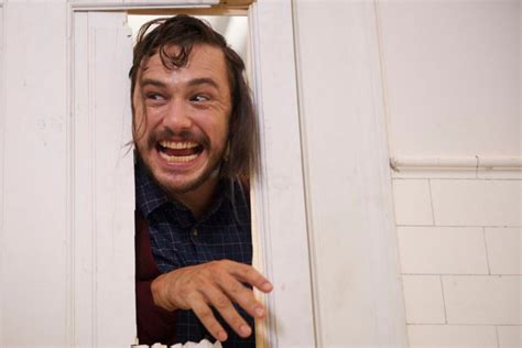 james franco bathroom james franco s interesting take on the shining making a