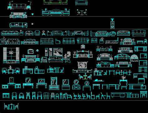 autocad furniture layout free download furniture dwgautocad drawing for design students