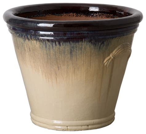 large indoor planters gunderson pail planter large contemporary indoor pots and planters by emissary
