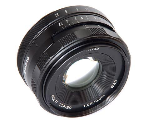 Lensa Meike 35mm F 1 7 meike 35mm f 1 7 lens review