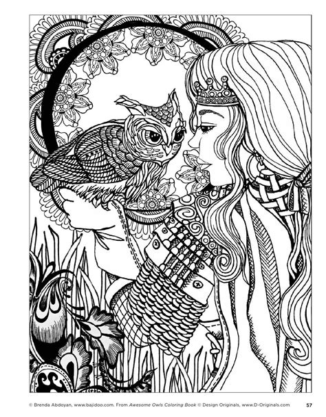 awesome coloring books awesome owls coloring book by fox chapel publishing
