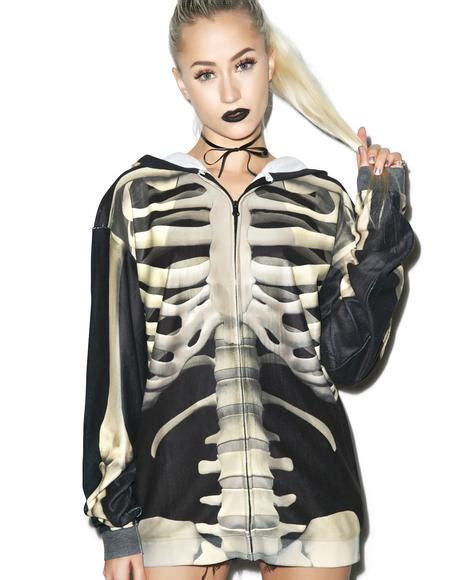 Zipper Hoodie Starlet wildfox couture blocked marquis zip hoodie dolls kill