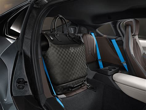 Louis Vuitton Car Upholstery by Louis Vuitton Designs Carbon Fiber Luggage Collection For