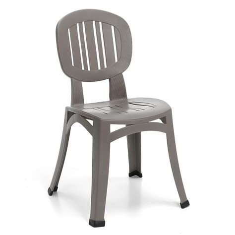 sedie da giardino usate sedia per esterno in plastica elba nard