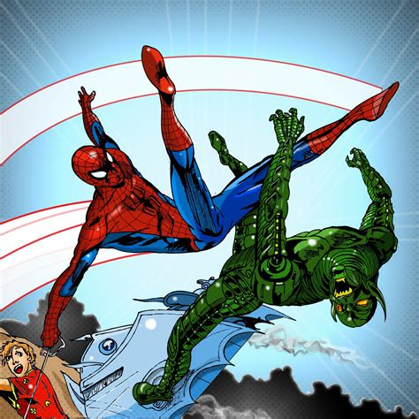 spiderman vs goblin film ita spiderman vs green goblin by alexreal677 on deviantart