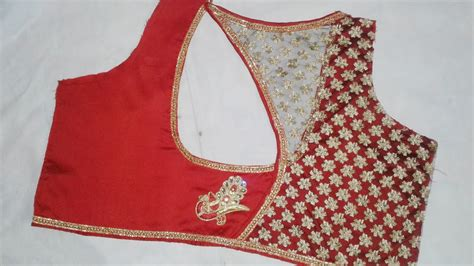Cutting Of Saree Blouse Stitching by Designer Saree Blouse For New Model Blouse