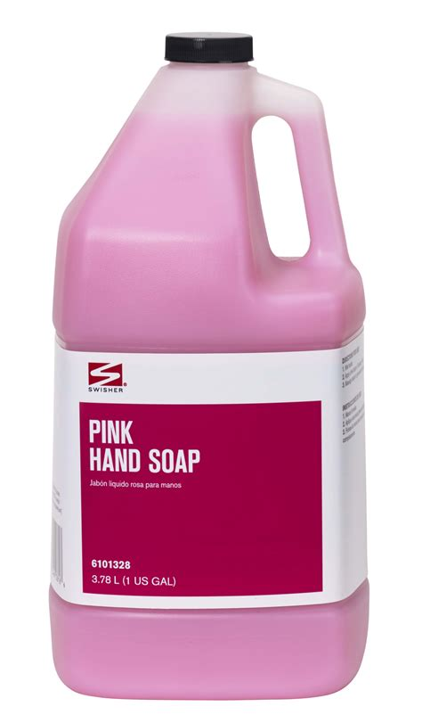 Swisher Bathroom Supplies by Swisher Pink Soap
