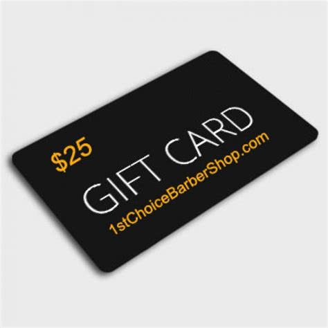 What Are E Gift Cards - electronic gift card 1st choice barber shop