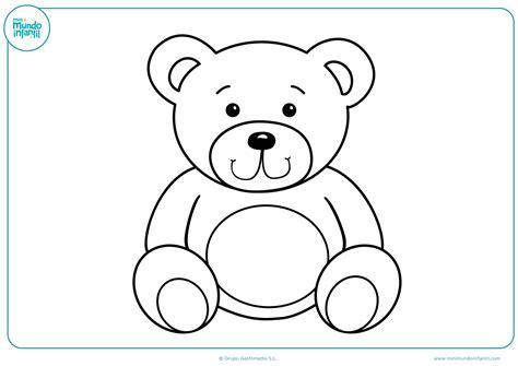 imagenes para pintar oso dibujos de juegos para colorear mundo primaria