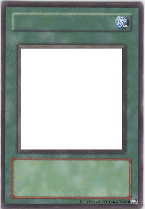 Blank Yugioh Card Template by Blank Yu Gi Oh Cards 3 By Pharaoh Yami On Deviantart