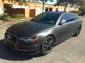 fonzie s audi s6 fully dipped matte black