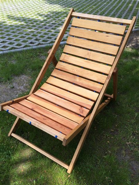 diy scrapwood sunbed deck chair  finished projects