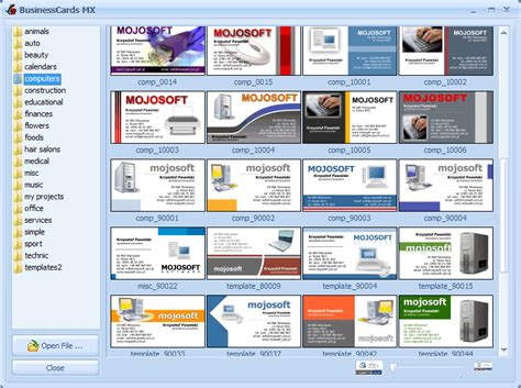 templates for businesscards mx แจก gt gt businesscards mx 3 95 ส ดยอดโปรแกรมทำนามบ ตร 400