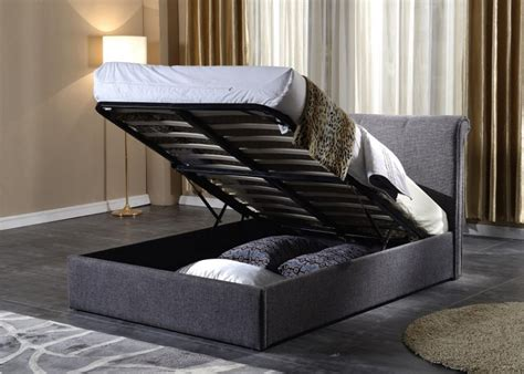 ottoman storage bed assembly instructions flintshire brynford 5ft kingsize fabric ottoman bed by
