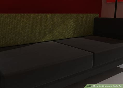 how to choose a sofa how to choose a sofa set 7 steps with pictures wikihow