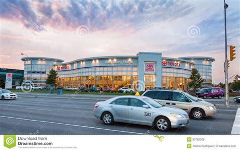 Toyota Deals Toronto Toyota Dealer In Toronto Editorial Stock Photo Image