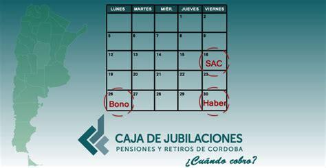 fecha de cobro de diciembre 2016 pensiones cobro de jubilaciones y pensiones de provincia de c 243 rdoba