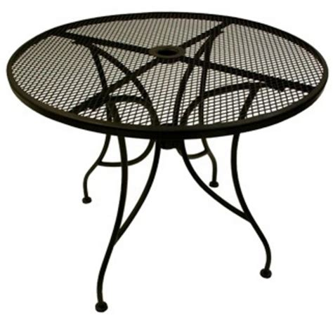 Outdoor Tables From Richardson Seating Corp Wrought Iron Patio Table