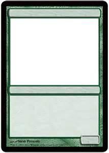 magic card template best photos of template magic card card