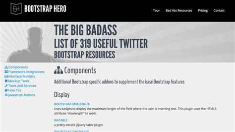 hero layout bootstrap startup resources design hello startup a programmer s