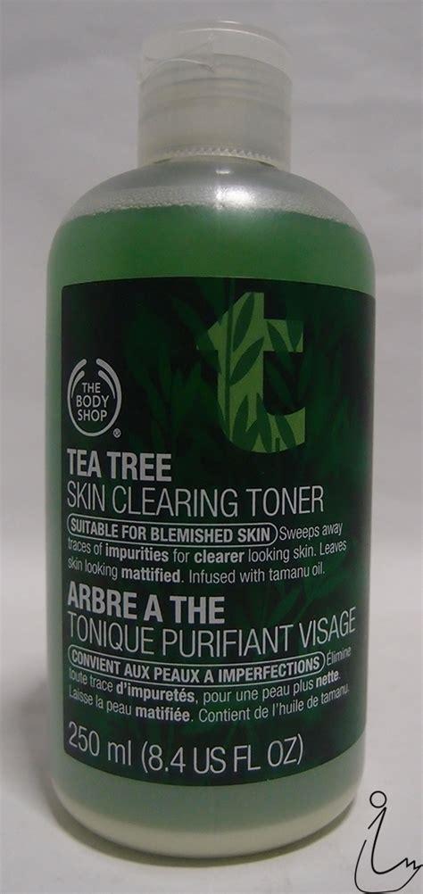 Toner Tea Tree Shop the swanple review the shop tea tree skin clearing