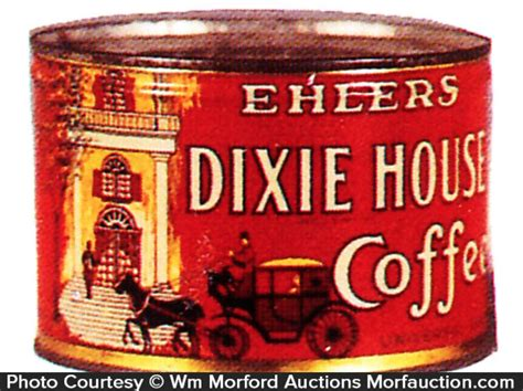 dixie house antique advertising dixie house coffee can antique advertising