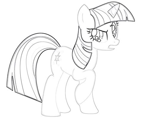 twilight sparkle coloring page az coloring pages