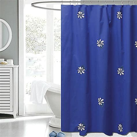 gerber daisy shower curtain gerber daisy 72 inch x 72 inch fabric shower curtain in