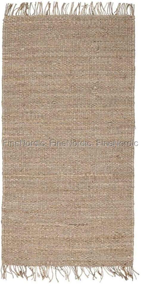 ib laursen teppich ib laursen teppich natur jute 80 x 160 cm