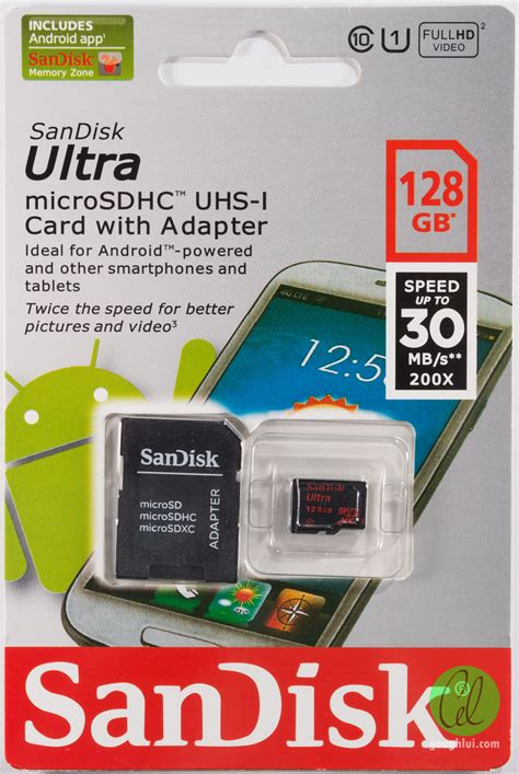 Microsd Sandisk 128gb sandisk ultra 30mb s micro sd 128gb class 10 sdxc memory