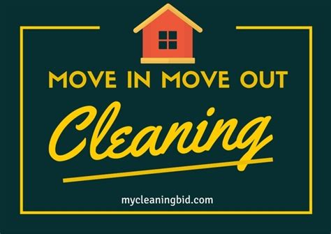 Move Out Cleaning Company Move In Move Out Cleaning Service Quotes Mycleaningbi