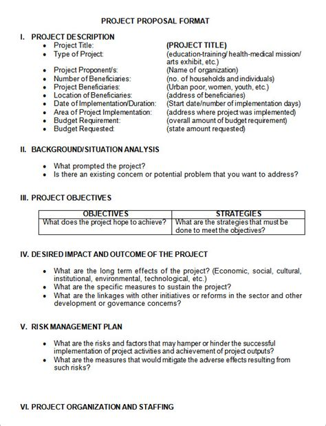 sle project proposal template 17 free documents in