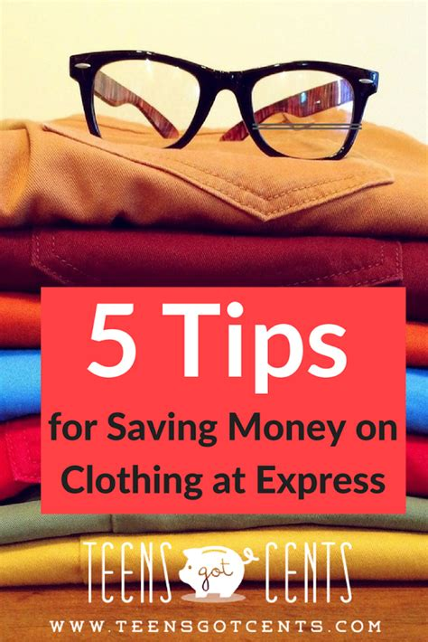 7 Tips On Saving Money On Clothes by Express Store 5 Tips To Save Money On Clothing