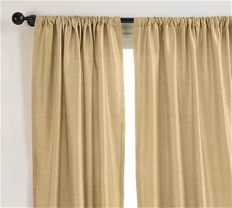 124 inch curtains dupioni silk drape 104 x 124 quot pole pocket wheat