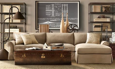 Masculine Living Room by Engineered Masculine Living Room