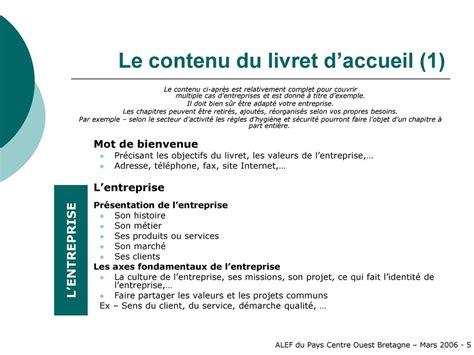 Modele De Livret D Accueil D Entreprise