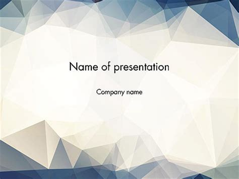 background templates triangles pattern powerpoint template backgrounds