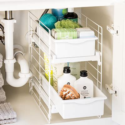 bathroom ideas amp organization tips the container store