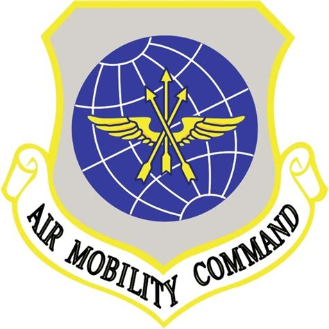 by order of the commander air mobility command instruction air mobility command free vector in encapsulated